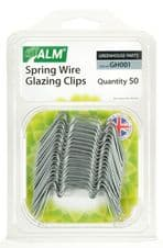 ALM Spring Wire Glazing Clips - Pack of 50